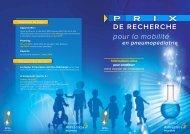 pour la mobilité - Société pédiatrique de pneumologie et d ...