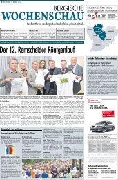 Der 12. Remscheider Röntgenlauf - Bergische Wochenschau