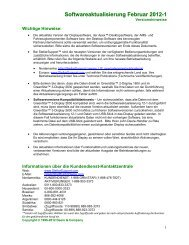 Softwareaktualisierung Februar 2012-1 - StellarSupport -  John Deere