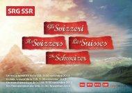 Programma «Gli Svizzeri» (pdf) - SRG SSR