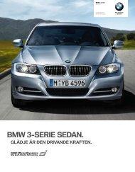 BMW 3-serie Sedan Alla modeller - tekniska data och utrustning