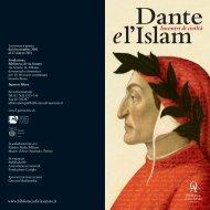 Dante e l'Islam - Fondazione Biblioteca di via Senato