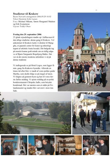 Studietur til Krakow - Byens Netværk