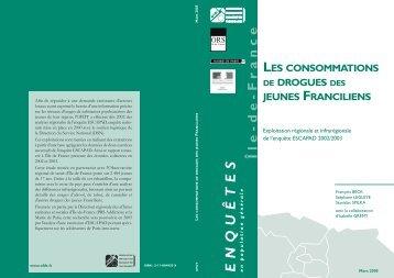 consommations de drogues des jeunes Franciliens - OFDT