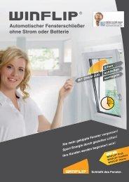 Automatischer fensterschließer ohne Strom oder Batterie  - bauMax