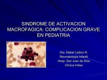 Síndrome de Activación Macrofágica - Sociedad Chilena de ...