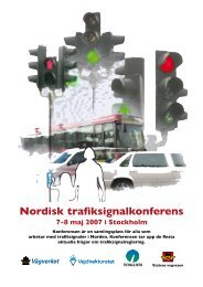 Nordisk trafiksignalkonferens - Movea Trafikkonsult AB
