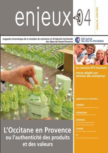 Enjeux 04 n°94 - (CCI) des Alpes-de-Haute-Provence
