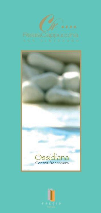 Scarica la brochure informativa del Centro benessere Ossidiana in ...