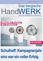 Ausgabe 01 I 2011 - Innung fuer Elektrotechnische Handwerke ...