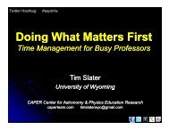 Doing What Matters First: Time Management for Busy Professors