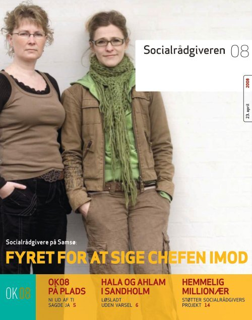 Socialrådgiveren nr. 8-2008 - Dansk Socialrådgiverforening