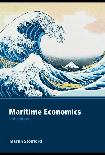 Cover & Table of Contents - Maritime Economics (3rd Edition)