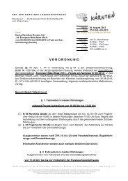 RefBogen + Briefkopf für Fensterkuverts (mit Infofußzeile) - Villach