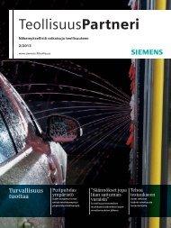 TeollisuusPartneri | 2/2013 - Siemens