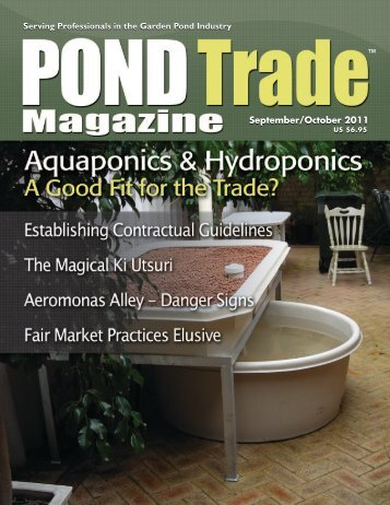 Download the September/October 2011 PDF - Pond Trade Magazine