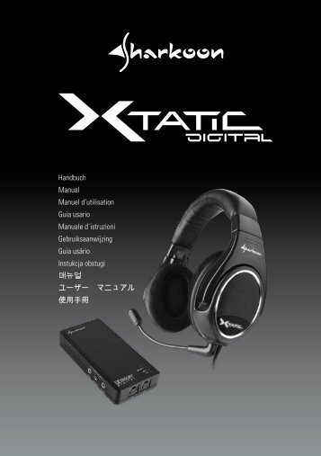 x-tatic digital - Sharkoon