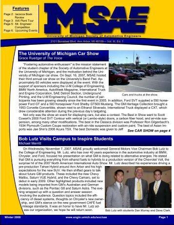 The University Of Michigan Car Show - Michigan Engineering ...