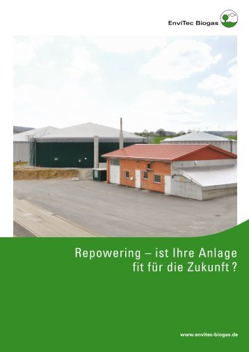 ENV folder repowering 131029.indd - EnviTec Biogas AG