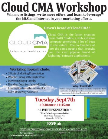 CloudCMA Flyer-Damon - WeMAR