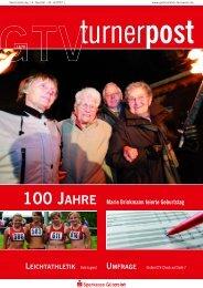 100 JAHRE Marie Brinkmann feierte Geburtstag LEICHTATHLETIK ...