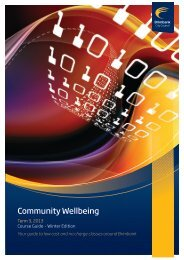 Community Wellbeing - Brimbank City Council