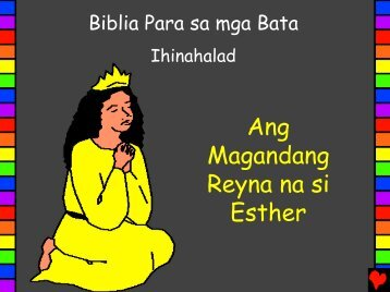 Beautiful Queen Esther Tagalog PDA - Bible for Children