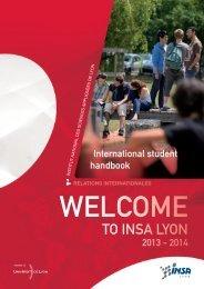welcome - INSA de Lyon