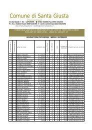 libri di testo 2009-2010.xlsx - Comune di Santa Giusta
