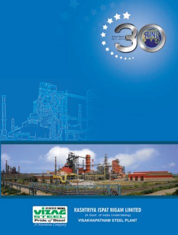 Annual Report for 2011-2012 - Vizag Steel