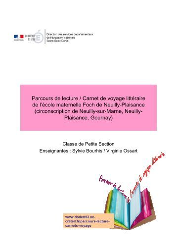 Parcours de lecture PS Foch NPlaisance - Inspection académique ...