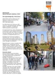 Byplanlægning - Byens Netværk