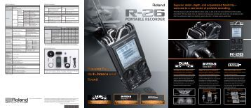 Brochure - Roland Systems Group