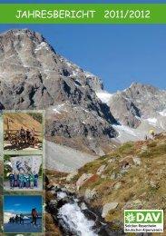 Jahresbericht 2011/2012 - Deutscher Alpenverein