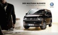 Der Multivan Business - Volkswagen Nutzfahrzeuge