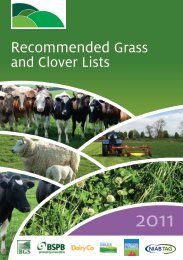 Recommended Grass And Clover Lists