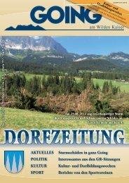 (5,23 MB) - .PDF - Going am wilden Kaiser - Land Tirol
