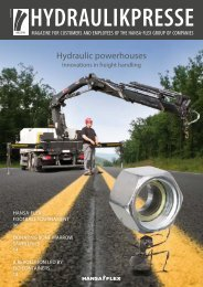 HYDraUlikPresse - Hydraulic powerhouses - Hansa Flex