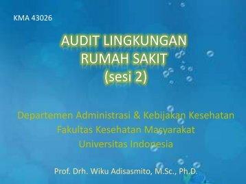 Audit Lingkungan 2 - Blog Staff UI - Universitas Indonesia