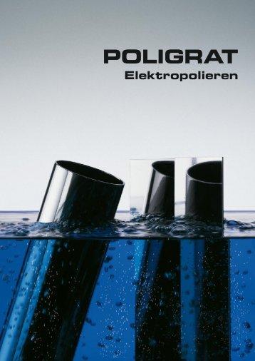 Broschüre - Elektropolieren - POLIGRAT GmbH
