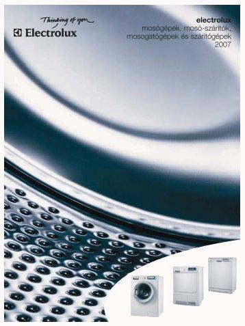 Electrolux mosó- és mosogatógépek