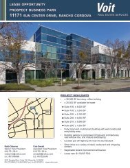 Prospect Business Park Brochure - Voit Real Estate Services