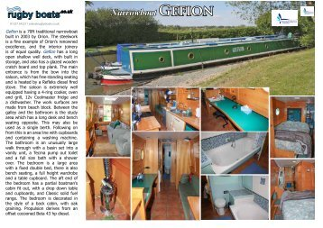 Brochure - Rugby Boat Sales