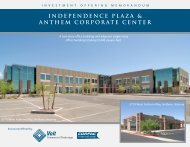 Independence Plaza & Anthem Corporate Center