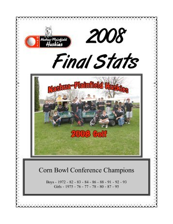 Download complete 2008 Stats and Meet Results - Nashua ...