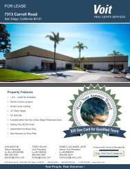 7313 Carroll Rd(1).pdf - Voit Real Estate Services