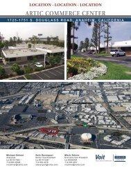 Artic Commerce Center Brochure.indd - Voit Real Estate Services