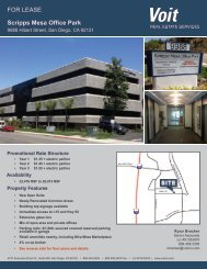 Flyer - Voit Real Estate Services