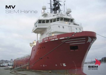 MV SIEM Hanne - Siem Offshore AS
