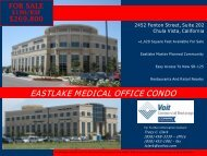EASTLAKE MEDICAL OFFICE CONDO